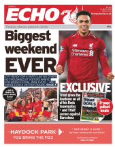 Biggest weekend EVER - Liverpool Echo - Friday 31st May